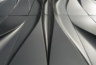 Liquid Form Concrete Tile