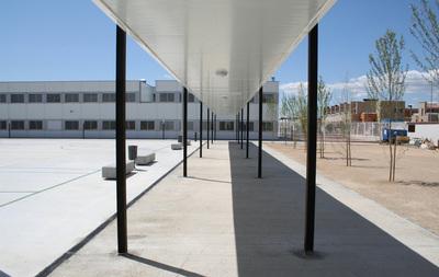 prefabricated high school