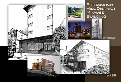Pittsburgh Hill District Mix-Use Building