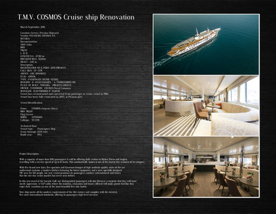 T.M.V. COSMOS Cruise Ship Renovation