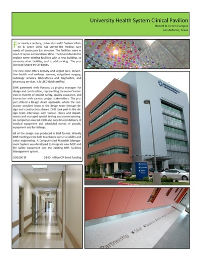 UHS Robert B. Green Clinical Pavilion & Pharmacy