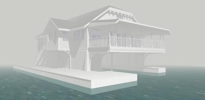 1000 Islands Boathouse Concept