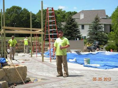 Poolside Renovation