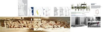 Elevated urban greenhaus - visionary architecture