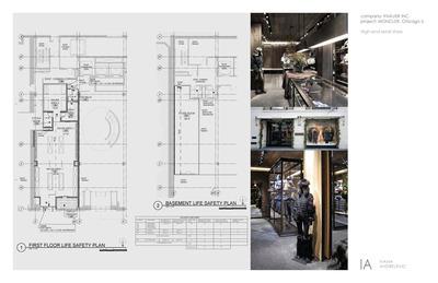 Moncler, Chicago IL – Retail (permit documents)