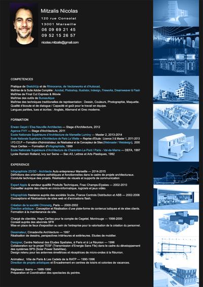 Collaborateur dArchitecte - Infographiste 2D 3D / multimédia