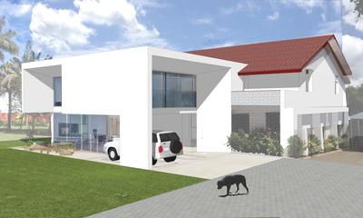 House extension in Dar es Salaam, Tanzania