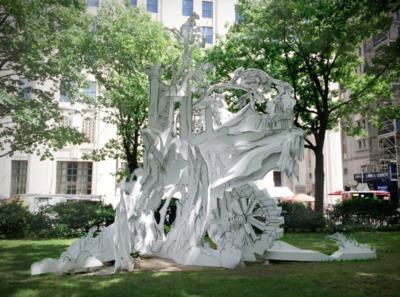Rachel Feinstein Folly - Madision Square park summer 2014