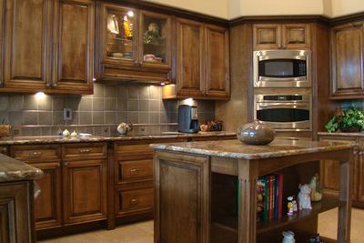 riggio residence custom kitchen