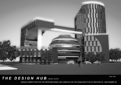 Proposed Ghana Institute of Architects office