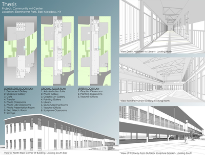 Thesis Project- Community Art Center