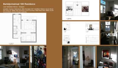 Barteljorisstraat 18H Residence Interior Design