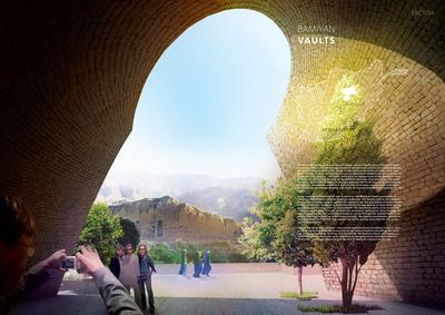 Bamiyan Cultural Center Competition - Bamiyan Vaults