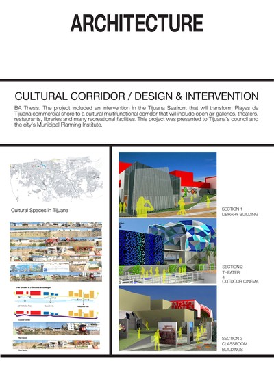Cultural Corridor / Design and Intervention