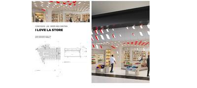 I Love LA - Concession Store - LAX