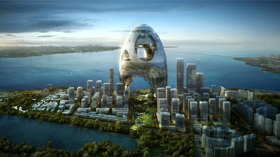 """3rd Prize Superposed city Shenzhen Bay """"Super City"""" International Competition"""