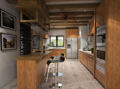 Moncupa kitchen design