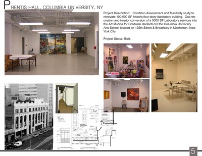Prentis Hall, Graduate Students Studio