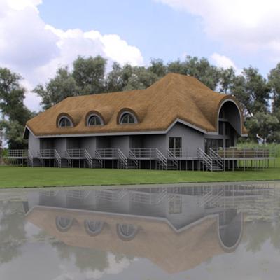 Danube Delta – Small Hotel Architecture Project