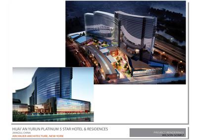 HuaiAn Yurun Platinum 5 Star Hotel