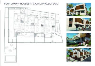 4 Luxury houses in Madrid
