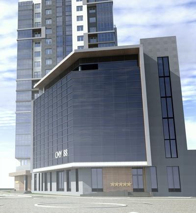 5 Stars Apartment Complex in downtown Kazan