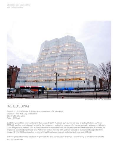 IAC BUILDING NYC