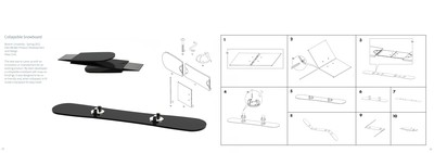 Collapsible Snowboard