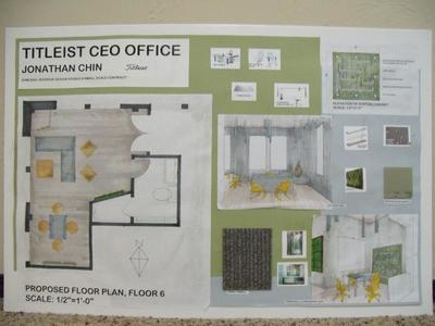 Titleist CEO Office