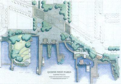Queens West- Gantry Plaza State Park