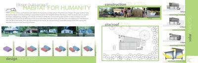 Hargrove Family House - Habitat for Humanity - Fourth Year Undergraduate