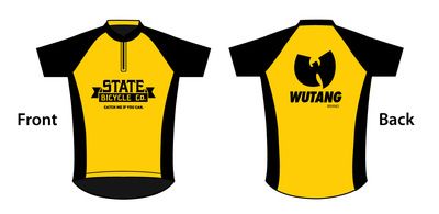 Wutang Brand Ltd. x State Bicycle - Jersey Design