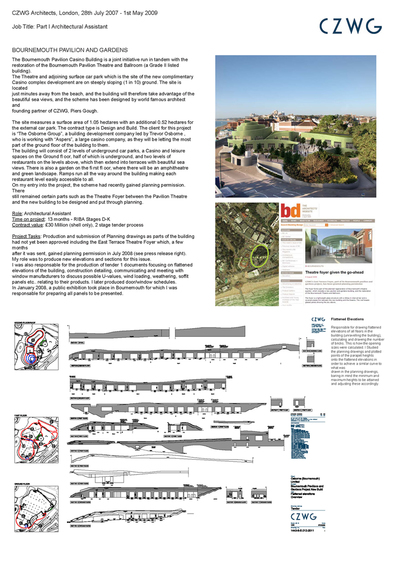 Bournemouth Pavilion and Gardens - CZWG Architects