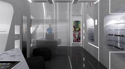 Interior Design: Eye Glass Store