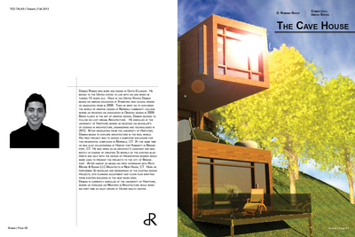 Cave house magazine