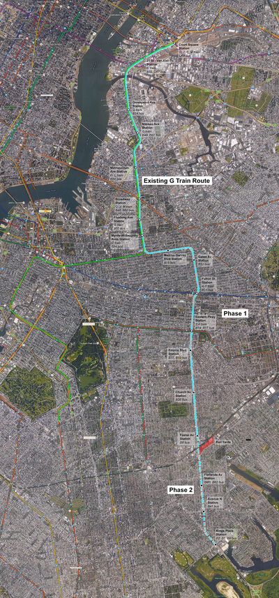NYC MTA Utica Avenue Subway Expansion proposal