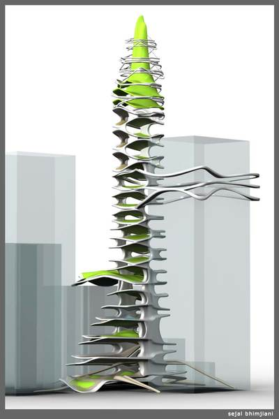 Vertical Landscape