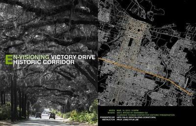 Envisioning victory drive historic corridor