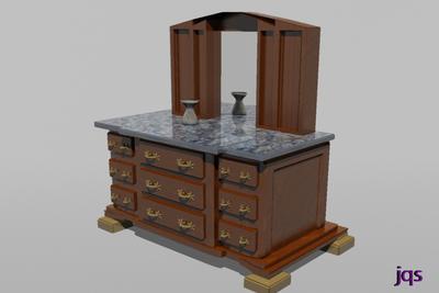 Dresser/Kitchen