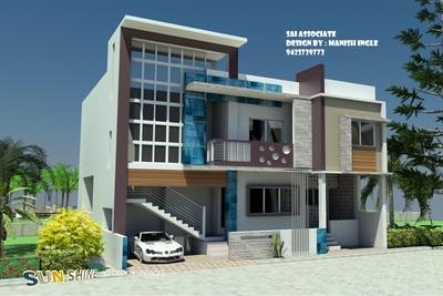 3d Home for Mr. Dhengale saheb Gruha Finance Nandura