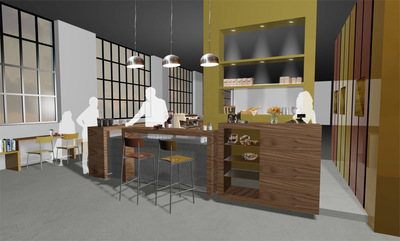 Cafeteria for Moplaco Coffee Plc