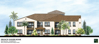 Francis Xavier Home - West Elevation (Garfield Street)