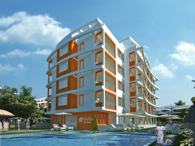 """Complex of Holiday Apartments """"Abelia Residence"""""""