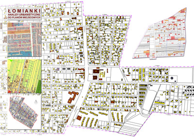 Lomianki - urban analysis