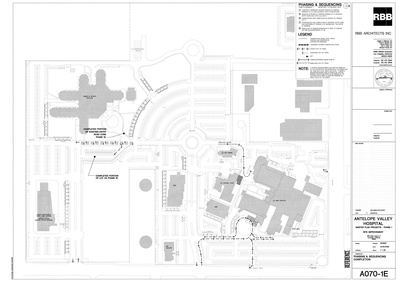 Antelope Valley Hospital Master Plan Projects Phase 1