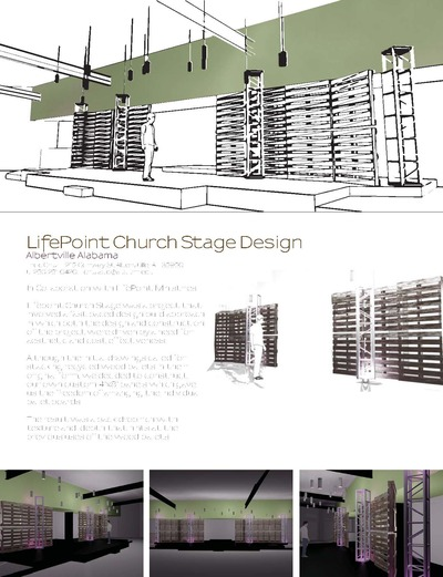 LifePoint Church Stage Design