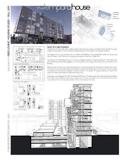 Temporal House - Housing Studio