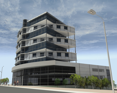 Office building BULLDOZER
