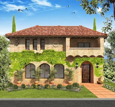 Beverly Hills Mediterranean revival house