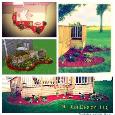 Backyard Residential Landscape Design